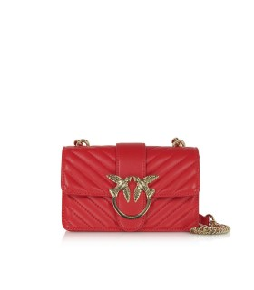 BORSA A TRACOLLA LOVE MINI MIX ROSSA PINKO