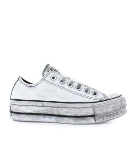 SNEAKER CONVERSE ALL STAR PLATFORM WHITE SMOKE IN