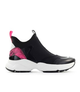 SNEAKER WILLOW NERO FUCSIA MICHAEL KORS